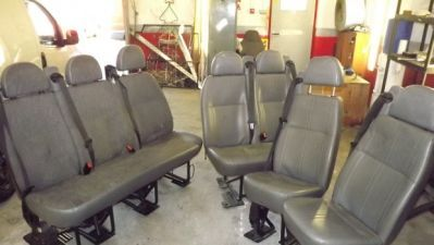 REAR SEAT CONVERSION FOR COMMERCIAL VEHICLES in Tyrone