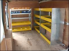 Large selection of Van Shelving/Racking  *Fits any make or model* in Tyrone