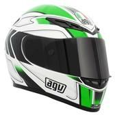 AGV GP TECH CROSS WHI/GRN in Armagh