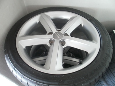 AUDI A4 S LINE ALLOYS in Tyrone