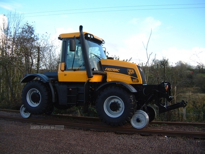 JCB Fastrac Rail Conversion in Tyrone