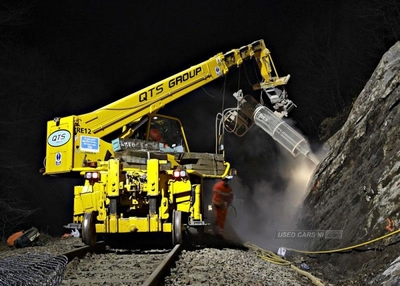 Merlo Rail Conversion in Tyrone